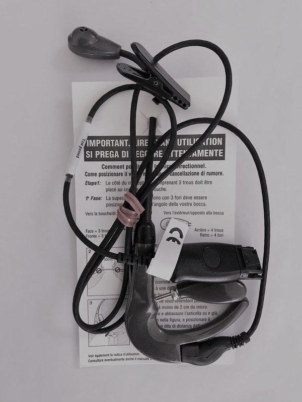 Plantronics Headset Over-the-ear, Ear Bud receiver H81N